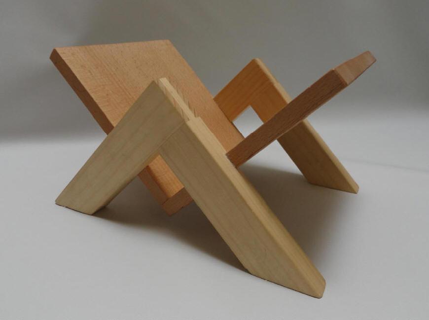 cd st nder holz selber bauen. Black Bedroom Furniture Sets. Home Design Ideas